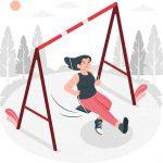 بدنسازی با کش ورزشی برای تقویت عضلات شکم و پشت