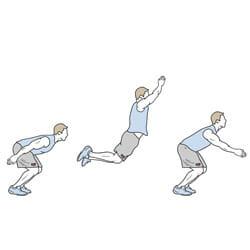 پرش طول (Long Jump) - آزمون های آمادگی جسمانی