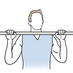 بارفیکس (Pull-Up) - آزمون های آمادگی جسمانی