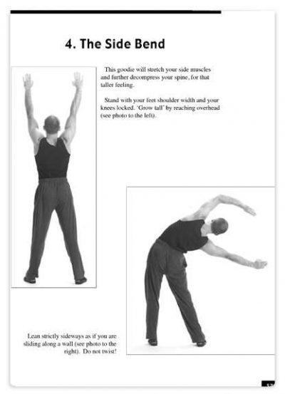 حرکات کششی گرم کردن بدن قبل از ورزش کاملا تصویری