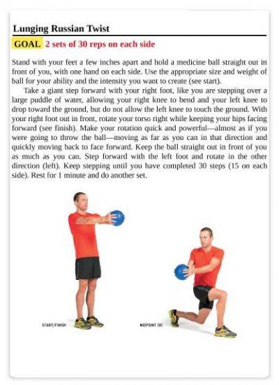 تمرینات ورزش سه گانه به همراه آموزش کامل تصویری