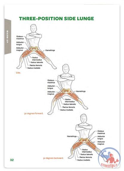 آناتومی بدنسازی گلف