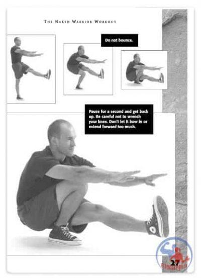 تمرینات قدرتی با وزن بدن