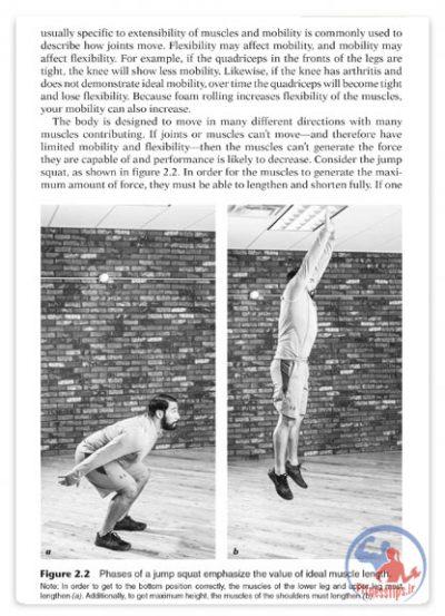 کتاب تمرینات فوم رولر