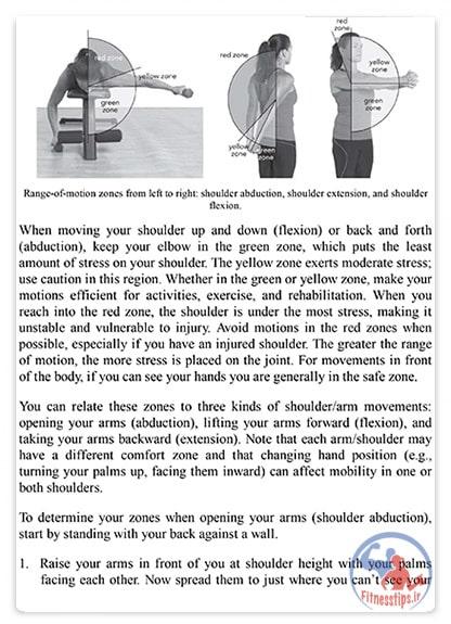 کتاب حرکات درمانی برای شانه