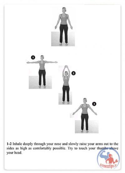 کتاب تمرینات ورزشی برای آسیب شانه