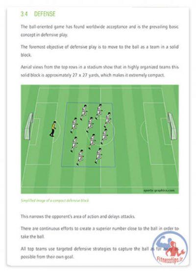 کتاب آموزش تکنیک های فوتبال