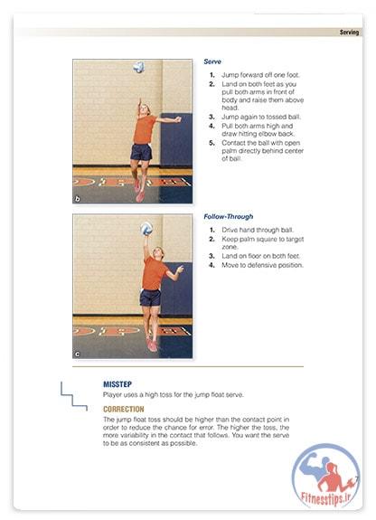 کتاب آموزش گام به گام والیبال