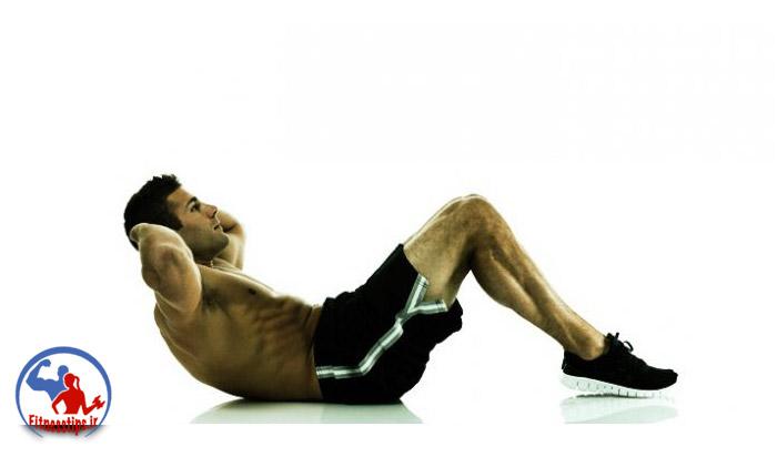 ورزش در منزل برای لاغری حرکت دراز و نشست
