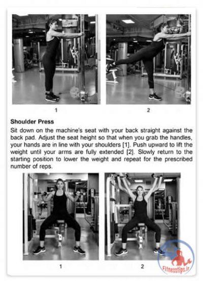 کتاب تمرینات متابولیک چهارده دقیقه ای