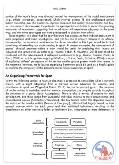 کتاب دایره المعارف روانشناسی ورزشی