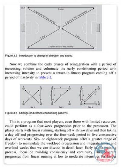 کتاب تمرینات بدنسازی فوتبال