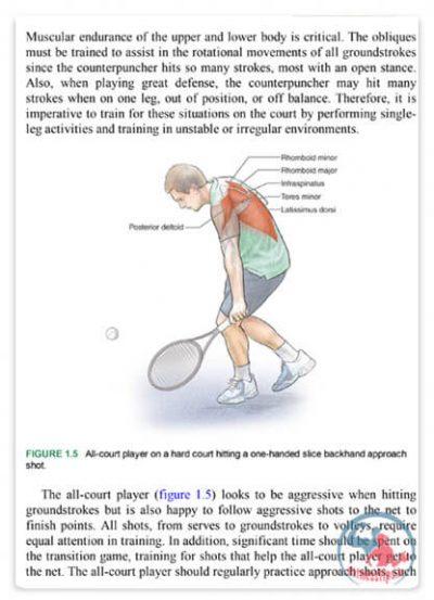 کتاب آناتومی بدنسازی تنیس