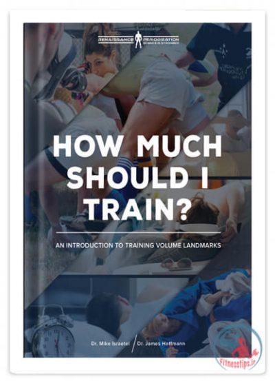 کتاب راهنمای میزان تمرینات