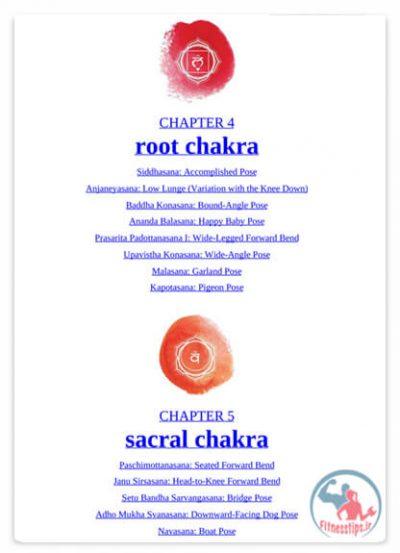 کتاب چاکراها در یوگا