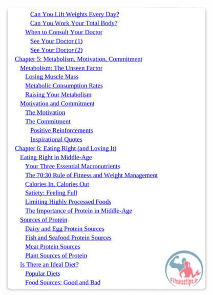 کتاب تمرینات قدرتی سالمندان