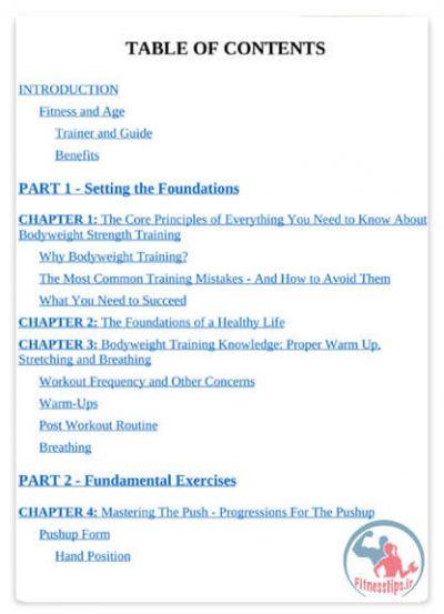 کتاب حرکات کالیستنیک