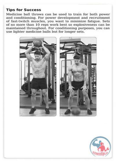 تمرینات حرفه ای عضلات شکم
