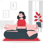 یوگا در خانه تنها با انجام چند حرکت ساده و مفید